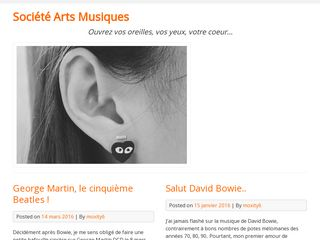 Blog pour moments de divertissement musical