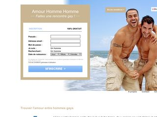 Amour Homme Homme