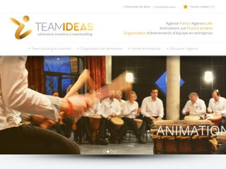 Team Ideas, agence team building à Paris et Lille