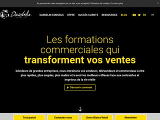 Dardelin Conseils: formation commerciale