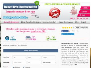 France devis demenagement – Devis demenagement gratuit en ligne