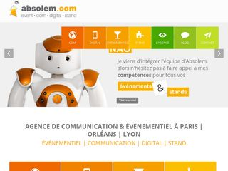 Agence de communication digitale Absolem