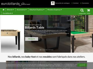 Eurobillards : billards et baby-foot d'exception