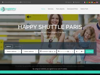 Happy Shuttle : service de taxi à Paris