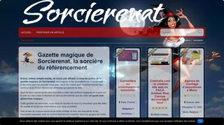 Gazette magique de Sorcierenat, le guide web par excellence