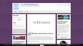 Art contemporain – La Paddytheque