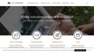 Novastream : La communication audiovisuelle