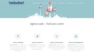 Techcare Comm – agence de communication