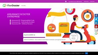 Courtiers pour solution assurance scooter
