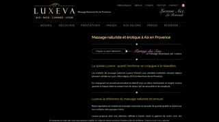 Luxeva, le centre des massages naturistes