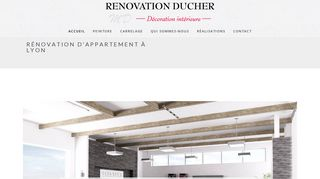 Rénovation Ducher : Rénovation d'appartement Lyon