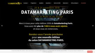 Tout sur le salon du Data-driven de Paris