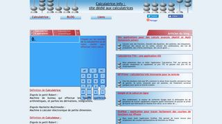 Calculatrice : le site-calculatrices