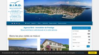 Agence Bird – Immobilier Ste maxime