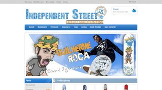 Independent Street : Vente d'articles de skateboard