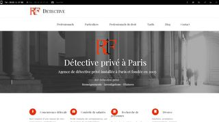 Detective privé Paris Ile-de-France