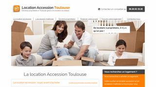 L'agence Location Accession Toulouse