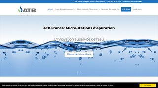 Les micro-stations d'épuration ATB France
