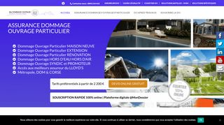 L'assurance dommages ouvrage particulier