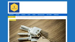 Immo Invest, site d'informations sur l'immobilier