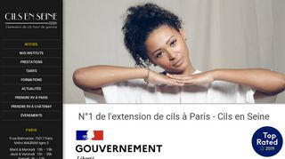 Experts en pose d'extension de cils sur Paris