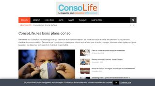 Consolife : le magazine consommation