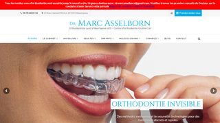 Orthodontiste Asselborn traitement Invisalign