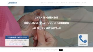 FGSOCO, centre de formation en orthodontie